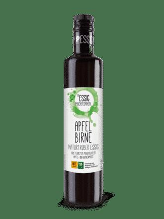 Bio Essigmacherinnen – Apfel-Birnen Essig naturtrüb