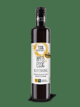 Bio Essigmacherinnen – Apfelessig mit Blütenhonig