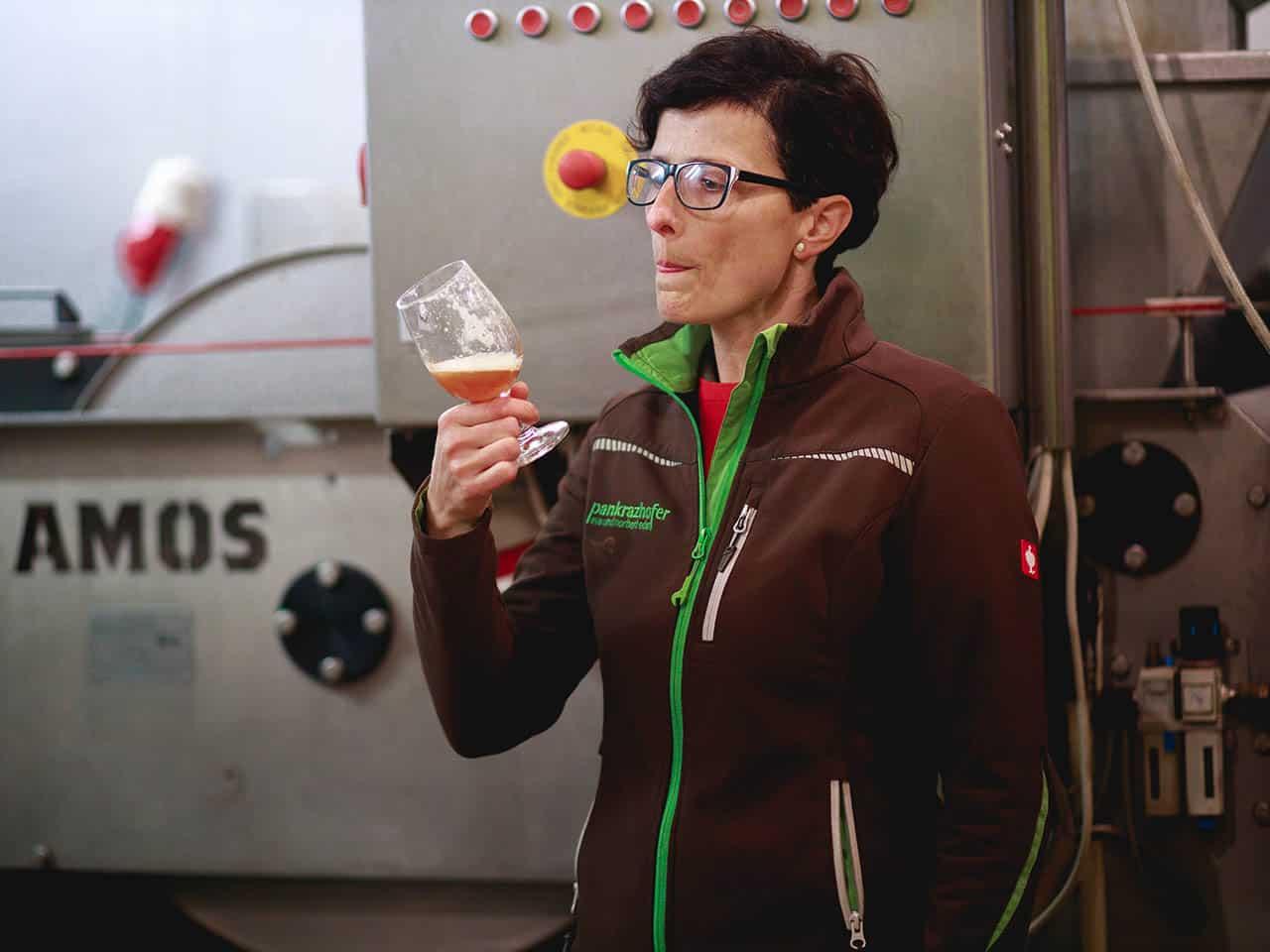 Bio Produktion Saft Qualitätskontrolle Pankrazhofer Muehlviertel 1