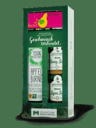 Geschmack verbindet – Essig, Senf und Schoko