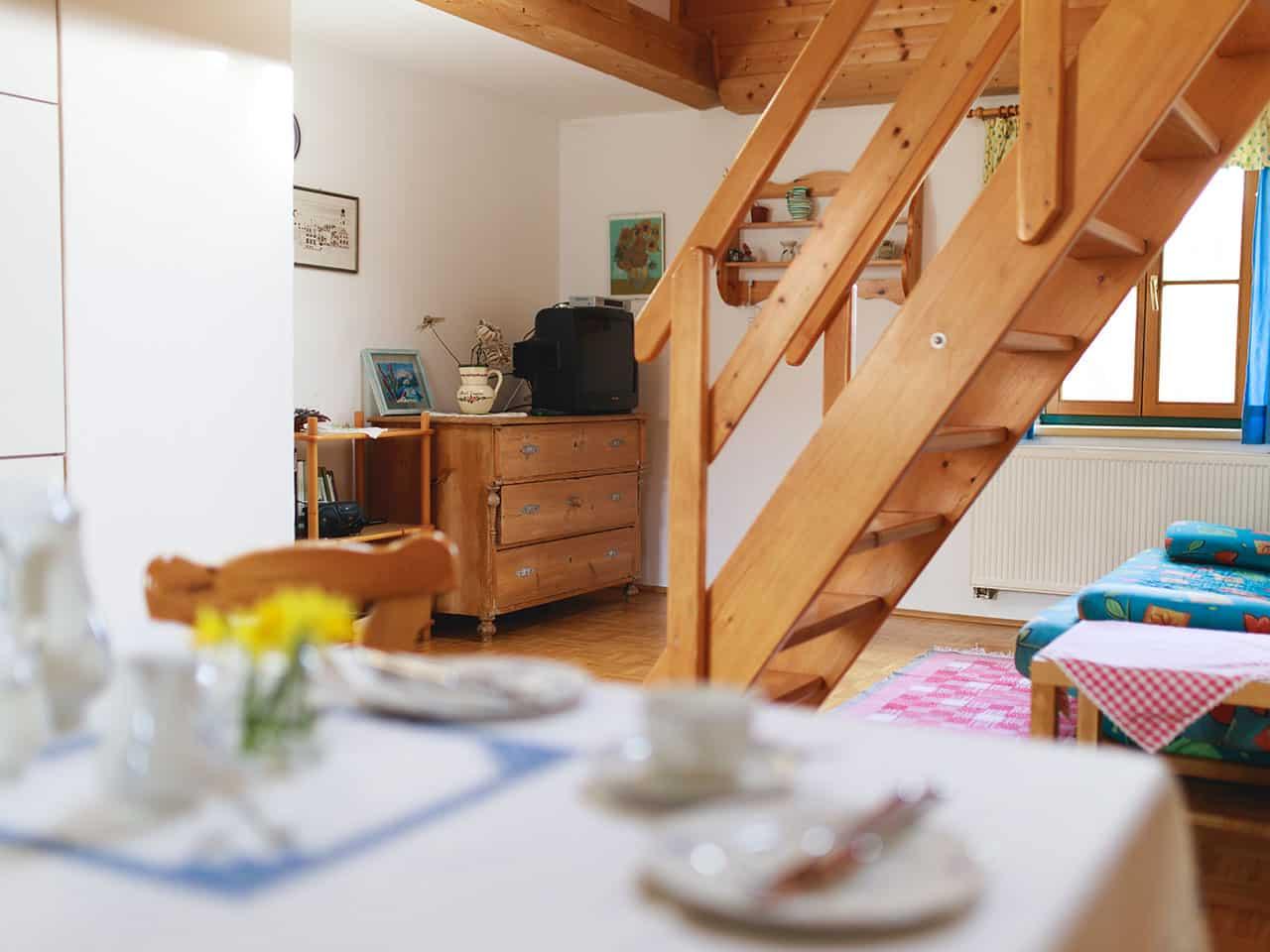 Zimmer Ferienwohnung Pankrazhofer wohnen